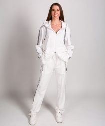 No.1 Como GIANNA 1000 sieviešu jaka balta