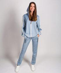 No.1 Como LIA 4400 sieviešu jaka zilā krāsā