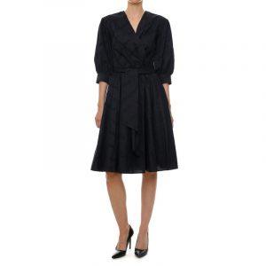 Karl Lagerfeld 215W1305999 sieviešu kleita melnā krāsā