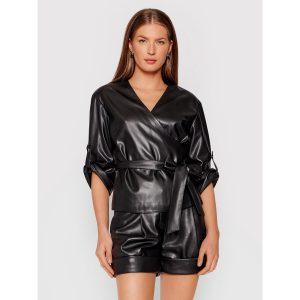 Karl Lagerfeld 215W1605999 sieviešu tops melnā krāsā