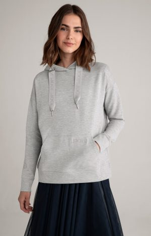 Joop! 30027648029 sieviešu džemperis pelēkā krāsā
