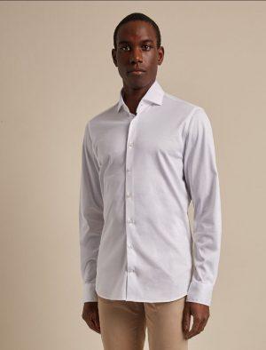 Baldessarini B31100049151010 vīriešu krekls baltā krāsā