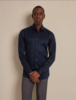 Baldessarini B31100049156000 vīriešu krekls tumši zilā krāsā