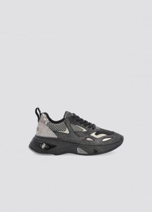 Liu Jo BF1015PX09622222 sieviešu apavi melnā krāsā
