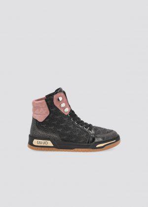 Liu Jo BF1093EX05522222 sieviešu apavi melnā krāsā