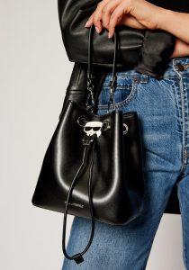 Karl Lagerfeld 205W3056999 sieviešu soma, melna
