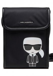 Karl Lagerfeld 211W3243999 sieviešu soma, melna