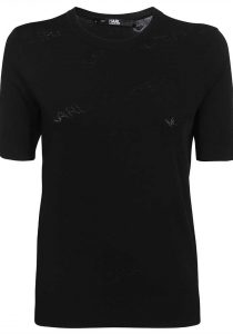 Karl Lagerfeld 215W2000999 sieviešu džemperis, melns