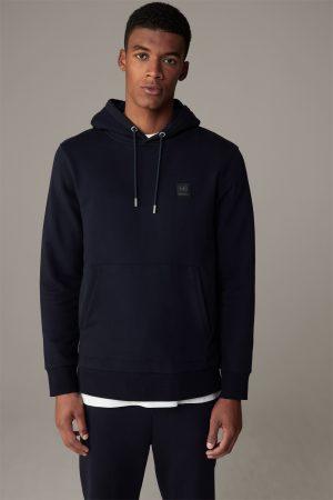 Strellson 30022201402 vīriešu džemperis tumši zilā krāsā