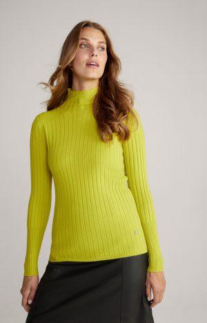 Joop! 30022431735 sieviešu džemperis, dzeltenīgi zaļš