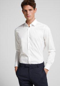 Joop! 30022830100 vīriešu krekls baltā krāsā