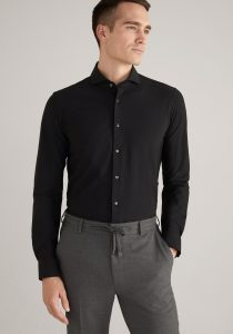 Joop! 30022862001 vīriešu krekls melnā krāsā