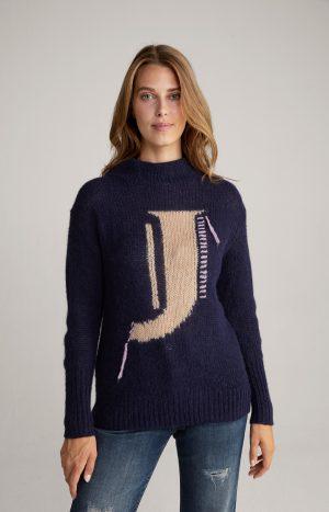 Joop! 30025215405 sieviešu džemperis tumši zilā krāsā