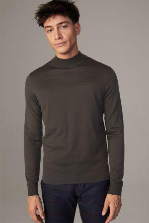 Strellson 30027988251 vīriešu džemperis brūnā krāsā