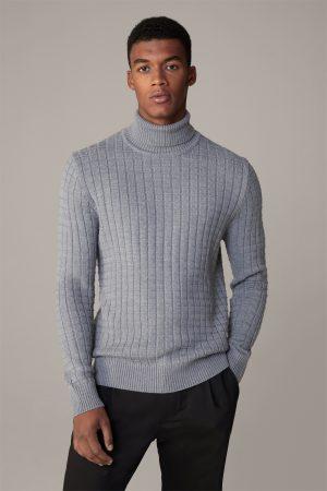 Strellson 30028017032 vīriešu džemperis, pelēks
