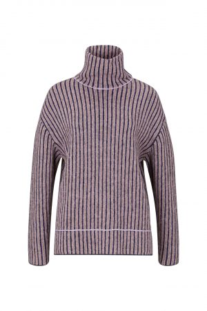 Joop! 30028432 405 sieviešu džemperis ar augstu apkakli