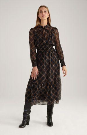 Joop! 30028515002 sieviešu kleita brūnā krāsā