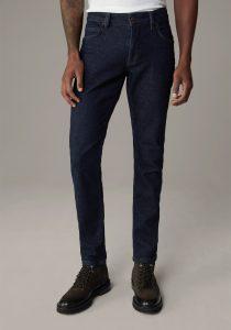 Strellson 30028714405 vīriešu džinsi tumši zilā krāsā