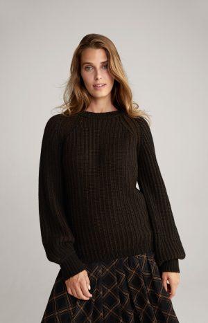 Joop! 30028739001 sieviešu džemperis tumši brūnā krāsā