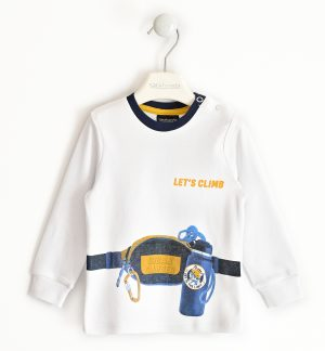 Sarabanda 31270113 zēnu džemperis, balts