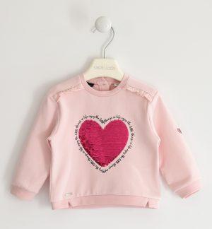 Sarabanda 31322715 meiteņu džemperis, gaiši rozā