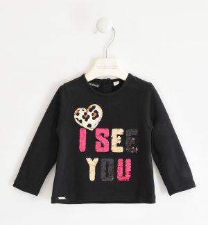 Sarabanda 31340658 meiteņu džemperis, melns