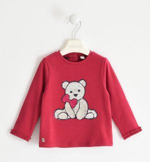 Sarabanda 32022652 meiteņu džemperis, sarkans