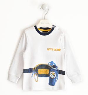 Sarabanda 32070113 zēnu džemperis, baltsq