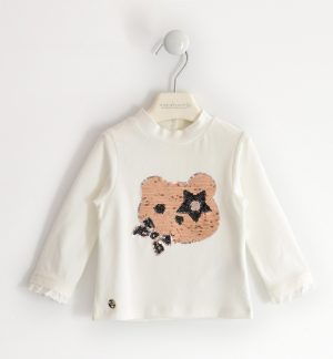 Sarabanda 32090112 meiteņu džemperis, gaiši bēšs