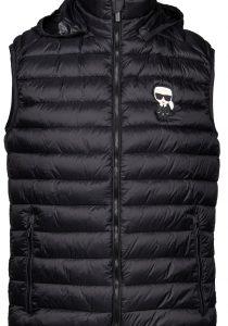 Karl Lagerfeld 505095512591990 vīriešu veste, melna