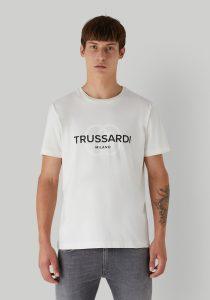 Trussardi 52T005141T005461W009 vīriešu T-krekls, gaiši bēšs
