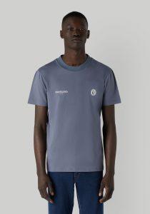Trussardi 52T005201T005461E180 vīriešu T-krekls, zils