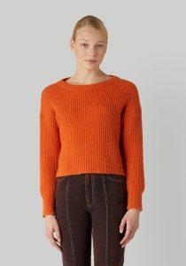 Trussardi 56M004020F000649O189 sieviešu džemperis, oranžs