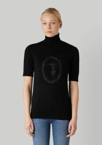 Trussardi 56M004480F000538K299 sieviešu džemperis, melns