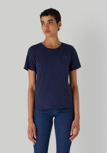 Trussardi 56T004091T005459U281 sieviešu T-krekls, tumši zils
