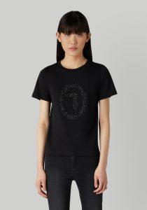 Trussardi 56T004241T003062K299 sieviešu T-krekls, melns