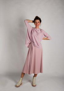 FFC 6108669 sieviešu džemperis, rozā
