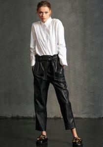 Luisa Cerano 64832524851 sieviešu bikses melnā krāsā