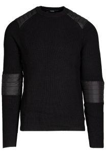 Karl Lagerfeld 655031512301990 vīriešu džemperis, melns