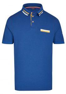 Daniel Hechter 74009112920690 vīriešu polo T-krekls, zils
