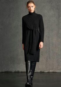Luisa Cerano 74887358791 sieviešu kleita melnā krāsā