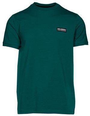 Karl Lagerfeld 755025512221530 vīriešu T-krekls, zaļš