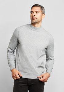 Bugatti 770085520220 vīriešu džemperis, pelēks