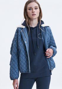 UNQ 8122623000183 sieviešu džemperis, zils