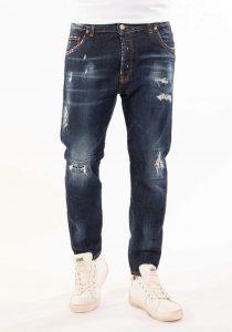 Takeshy Kurosawa 83050DENIM vīriešu džinsi, zili
