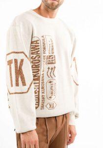 Takeshy Kurosawa 83059BURROCOCCO vīriešu džemperis, gaiši bēšs