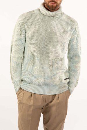Takeshy Kurosawa 83062MILITARE vīriešu džemperis, zaļš