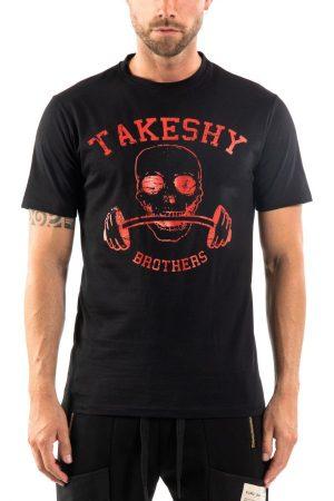 Takeshy Kurosawa 83091NERO vīriešu T-krekls, melns