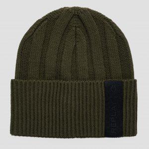 Replay AM4248.000.A7003406 vīriešu cepure, zaļa