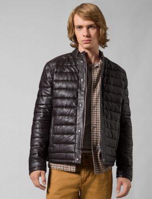 Baldessarini B290016.70138000 vīriešu ādas jaka, brūna